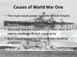 causes of world war one3
