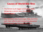 causes of world war one4