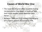 causes of world war one5