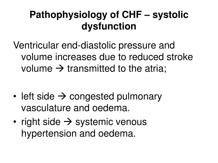 PPT Congestive Heart Failure Pathophysiology And Other Relations