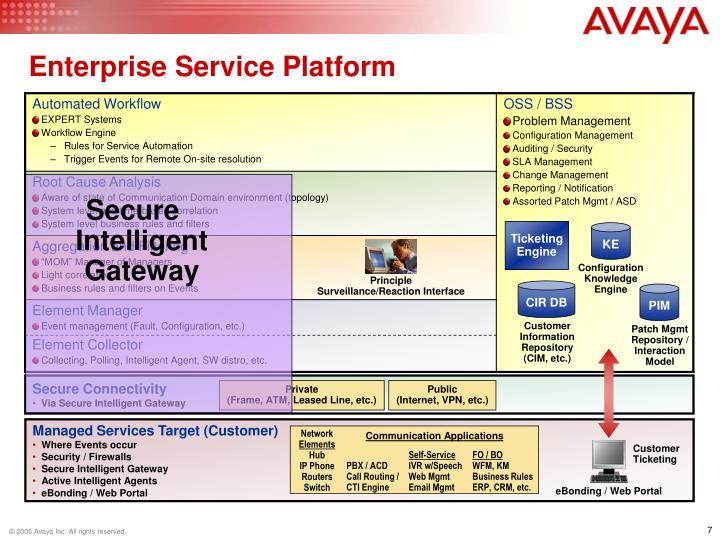Enterprise Service Platform