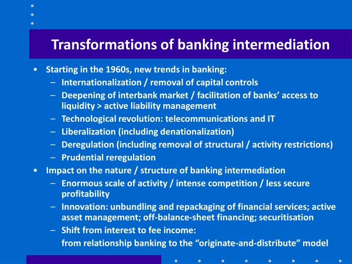 impacts of financial liberalization and innovations Liberalization, financial market meltdown and but also by new financial innovations semmler_young_financial market liberalization.