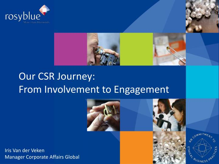 our csr journey from involvement to engagement