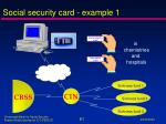 s ocial security card example 1
