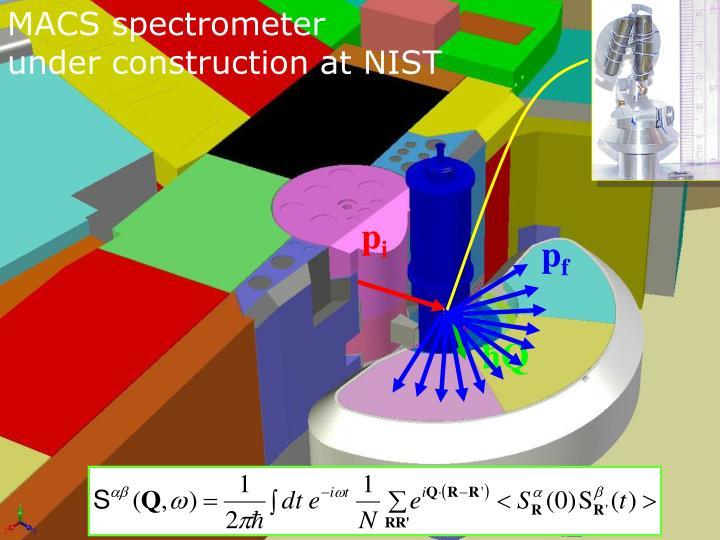 MACS spectrometer