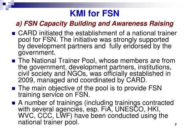 KMI for FSN