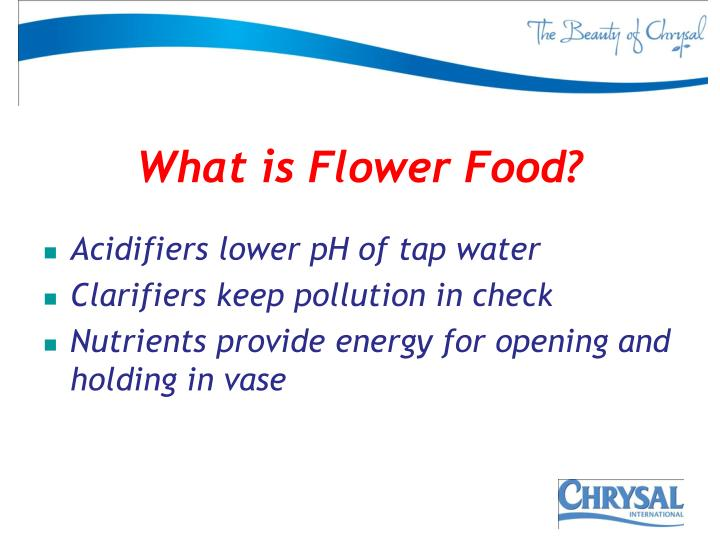 What is Flower Food?