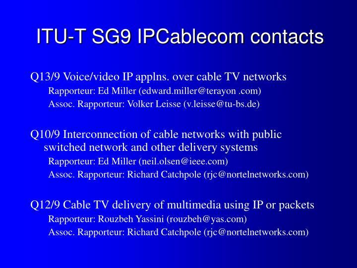 ITU-T SG9