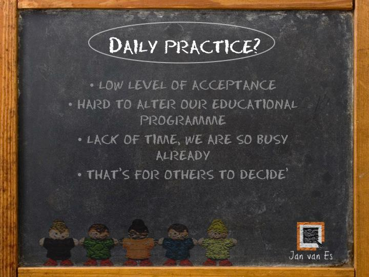 Daily practice?
