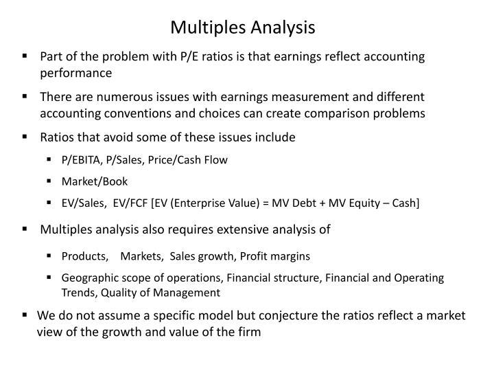 Multiples Analysis