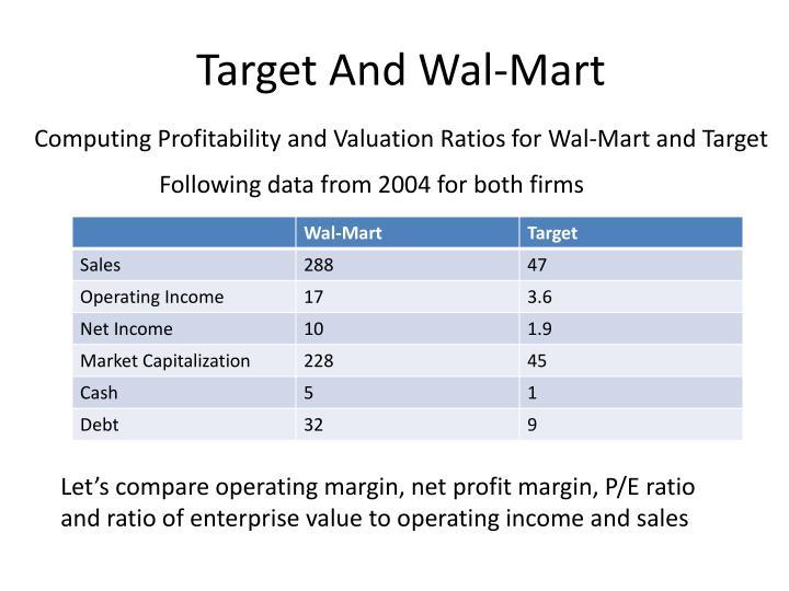 Target And Wal-Mart