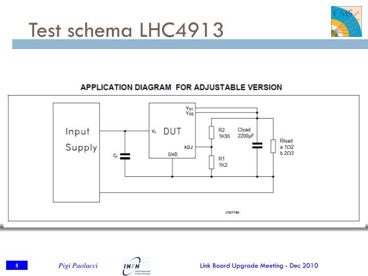 Test schema LHC4913