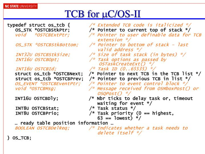 TCB for