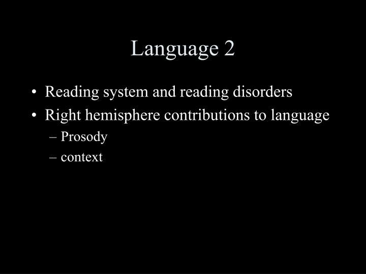 Language 2