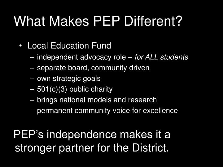 Local Education Fund