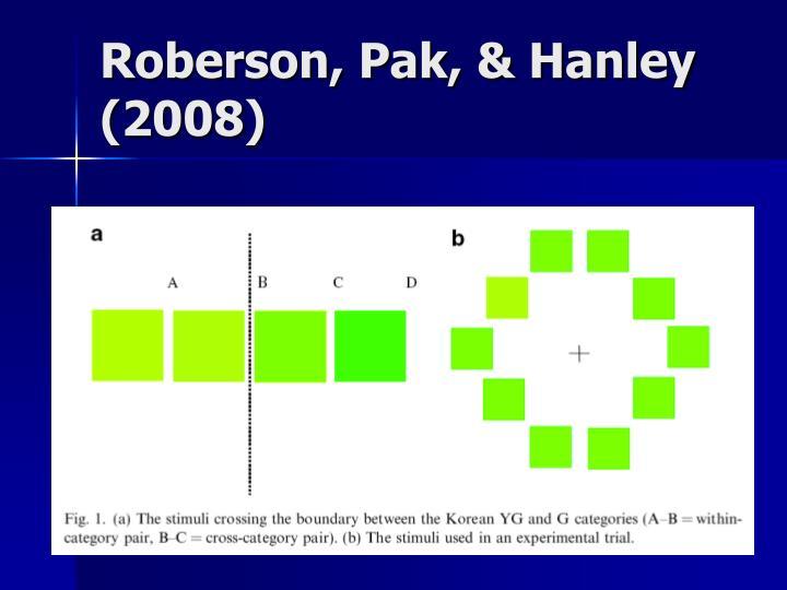 Roberson, Pak, & Hanley (2008)