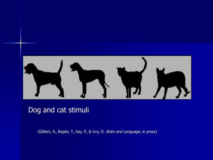 Dog and cat stimuli