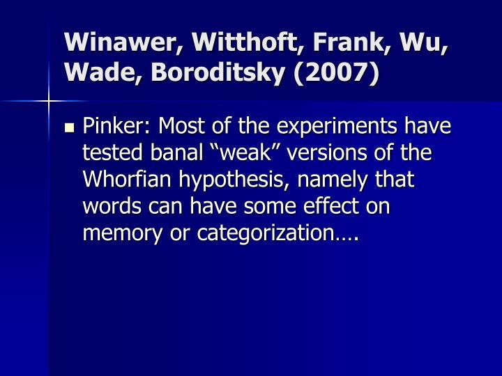 Winawer