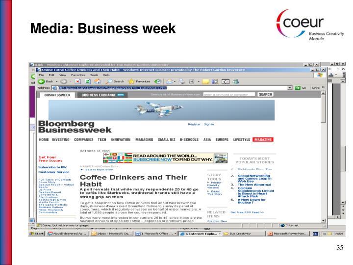 Media: Business week