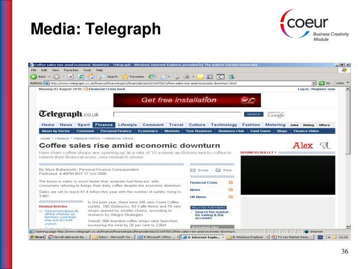 Media: Telegraph