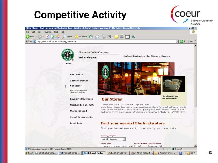 Competitive Activity