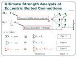 ultimate strength analysis of eccentric bolted connections2