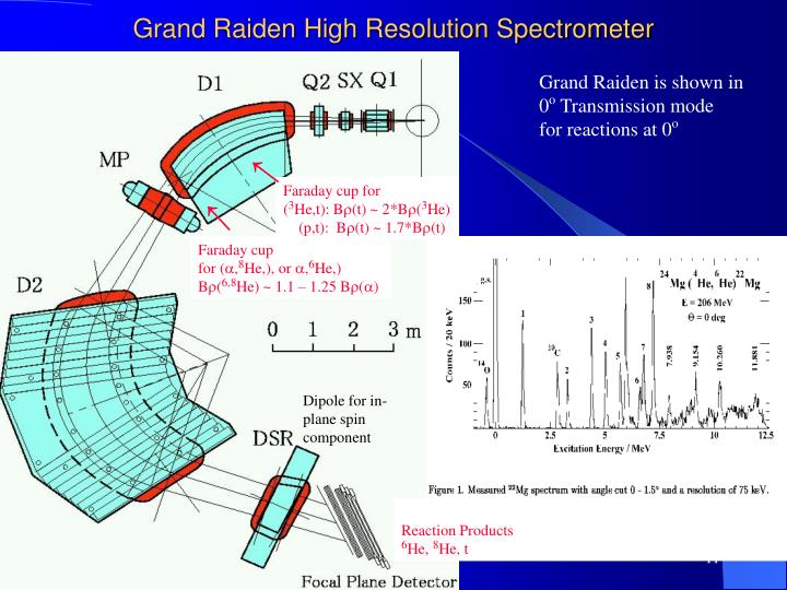 Grand Raiden High Resolution Spectrometer