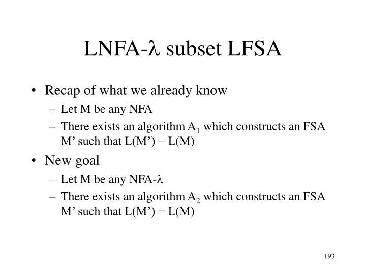 LNFA-