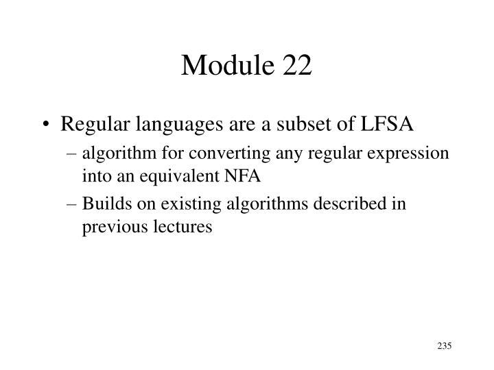 Module 22