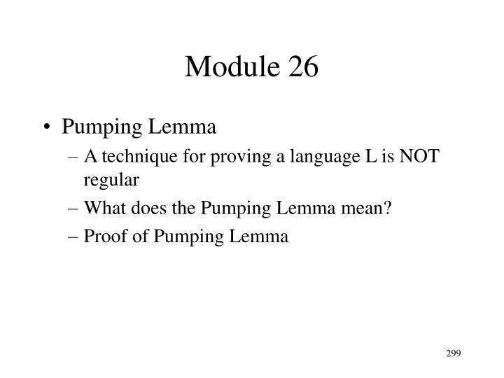 Module 26