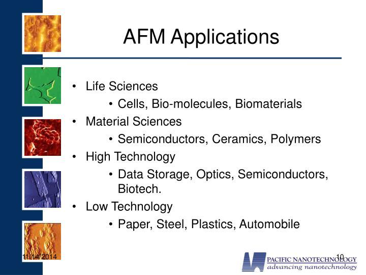 AFM Applications