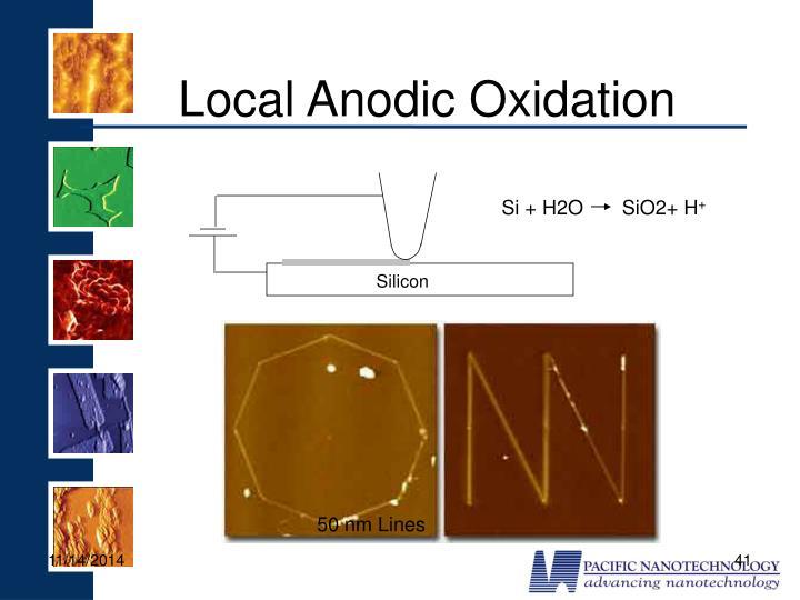 Local Anodic Oxidation