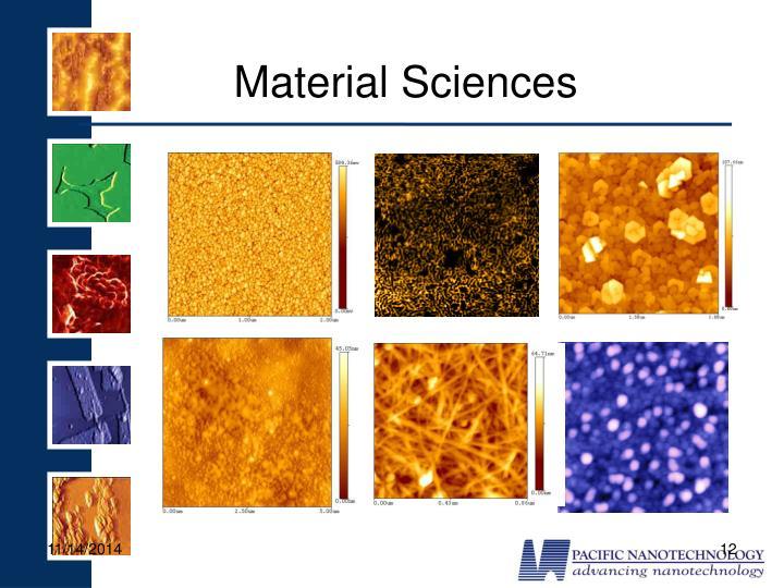 Material Sciences