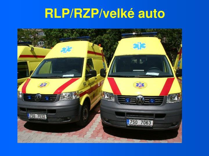 RLP/RZP/velké auto