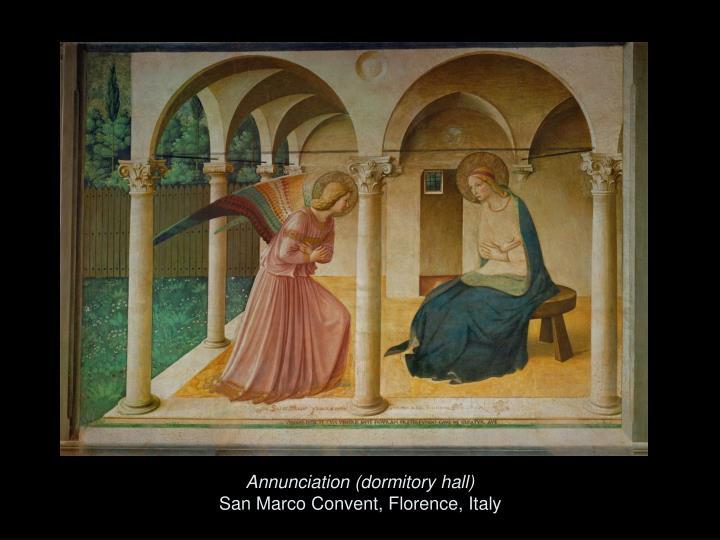 Annunciation (dormitory hall)