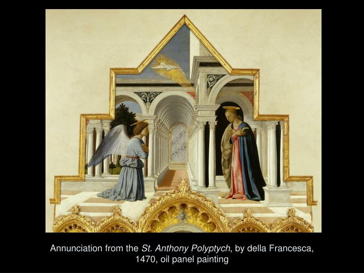 Annunciation from the