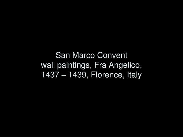 San Marco Convent