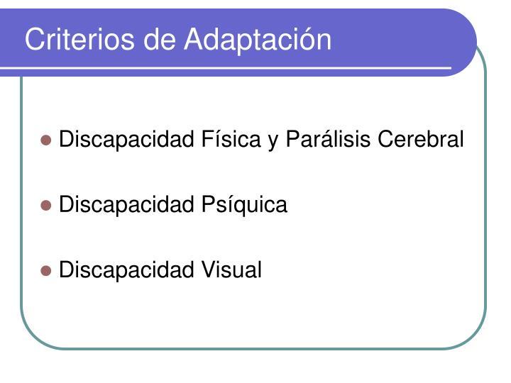 Criterios de adaptaci n2