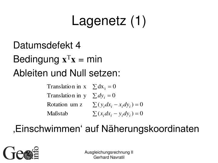 Lagenetz (1)