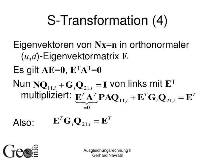 S-Transformation (4)