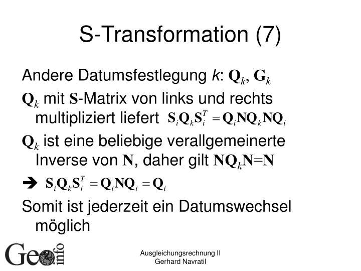 S-Transformation (7)