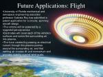 future applications flight