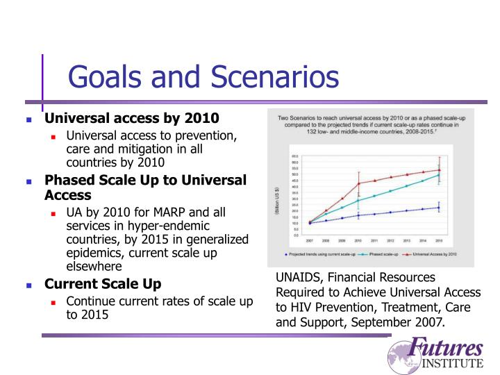 Goals and scenarios