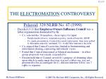 the electromation controversy2