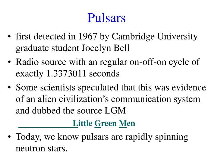 Pulsars