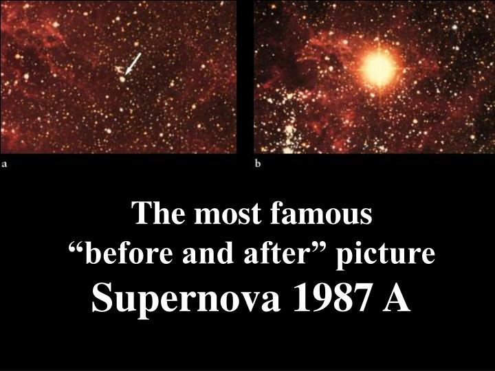"""The most famous          """"before and after"""" picture"""