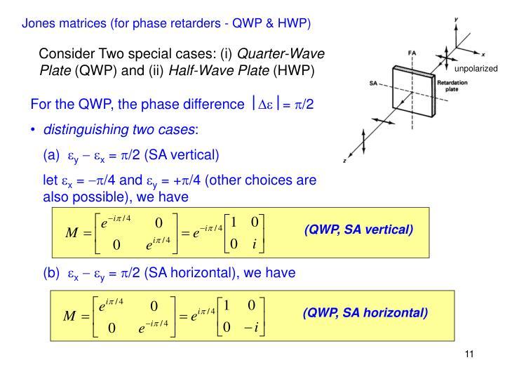 (QWP, SA vertical