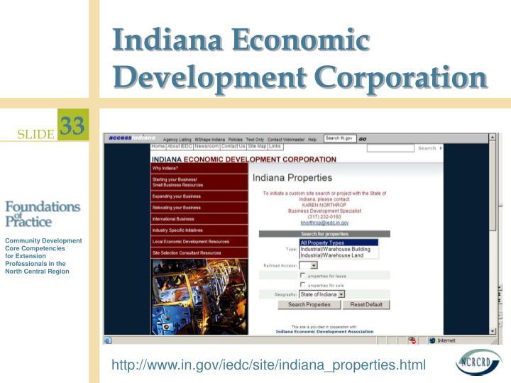Indiana Economic Development Corporation