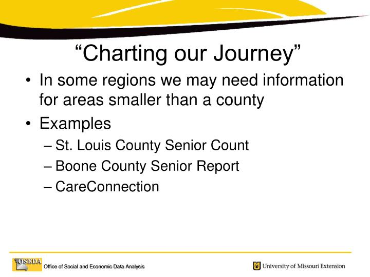 In some regions we may need information for areas smaller than a county