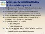 medscope medication review business management